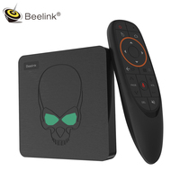 Beelink GT King Android 9.0 TV Box Amlogic S922X 4GB 64GB 2.4G Voice Remote Control 1000Mbps 4K HD 2.4G + 5.8G WiFi USB3.0