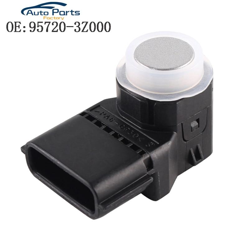 Silver Color PDC Parking Sensor For Hyundai I40 95720-3Z000 957203Z000 4MT006KCB 4MT006HCD 95720-2P500 957202P500