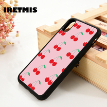 Iretmis 5 5S SE 6 6S Soft TPU Silicone Rubber phone case cover