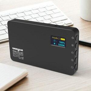 Image 5 - Weeylite RB08 RB08P RGB 2500K 8500K מיני וידאו LED אור מילוי אור מובנה סוללה עבור טלפון מצלמה ירי סטודיו