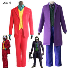 Hot Sale 2019 New Joker Costume Joker Suit Pennywise Boots Cosplay Clown Shoes Halloween Costumes for Adult Kids