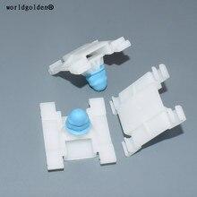 Worldgolden 100 pçs clipes de automóvel porta guarnição painel retentor para vw #1h0853585, 55276