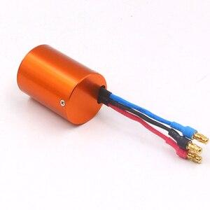 Image 3 - FATJAY 4 pole sensorless motore brushless inrunner 2838 2800KV 3800KV per RC auto barche 380 390 Aggiornamento del motore