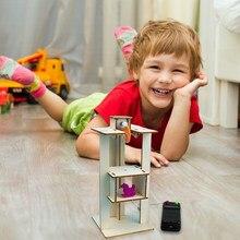 Elevador controle remoto conjunto de ensino experimental educação da primeira infância escola ferramentas experimentais brinquedos educativos