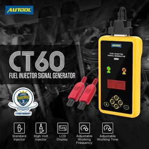 Image 2 - AUTOOL CT60 Auto Fuel Injector Tester, Fuel Injector Flush Tester  Automotive Goods CT150 CT200 12V Pulse Pressure Boost Tester