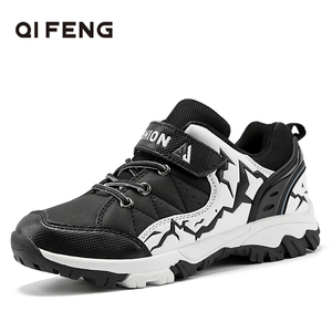 Image 1 - 2019 New Spring Autumn Children Outdoor Sports Hiking Shoes, Rock Climbing Kids Trekking Footwear, Boy Student casual Sneakers