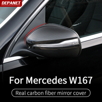 Rear mirror trim For Mercedes gle w167 GLS W167 X1gle carbon gle 2020 gle 350/amg 450 500e amg exterior decoration accessories