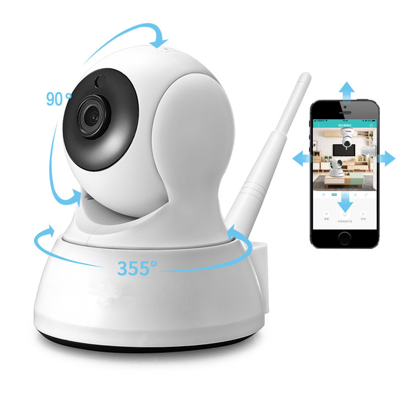 IP Camera HD 720P Wireless Home Security WiFi Camera Two Way Audio Baby Monitor Smart  Night Vision CCTV Indoor Camera Monitor
