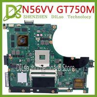 Kefu n56mw placa-mãe para asus n56vm  n56vj n56vz n56vb n56v laptop  placa-mãe gt750 2 gb