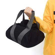 Weightlifting Training Sandbag Fitness Workout High Intensity Exercises Power Bag Black