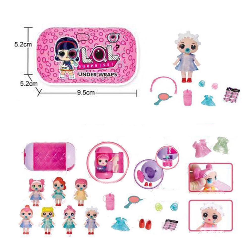 Surprise Eye Series Under Wraps Capsule Big Sister Doll Cute Gift