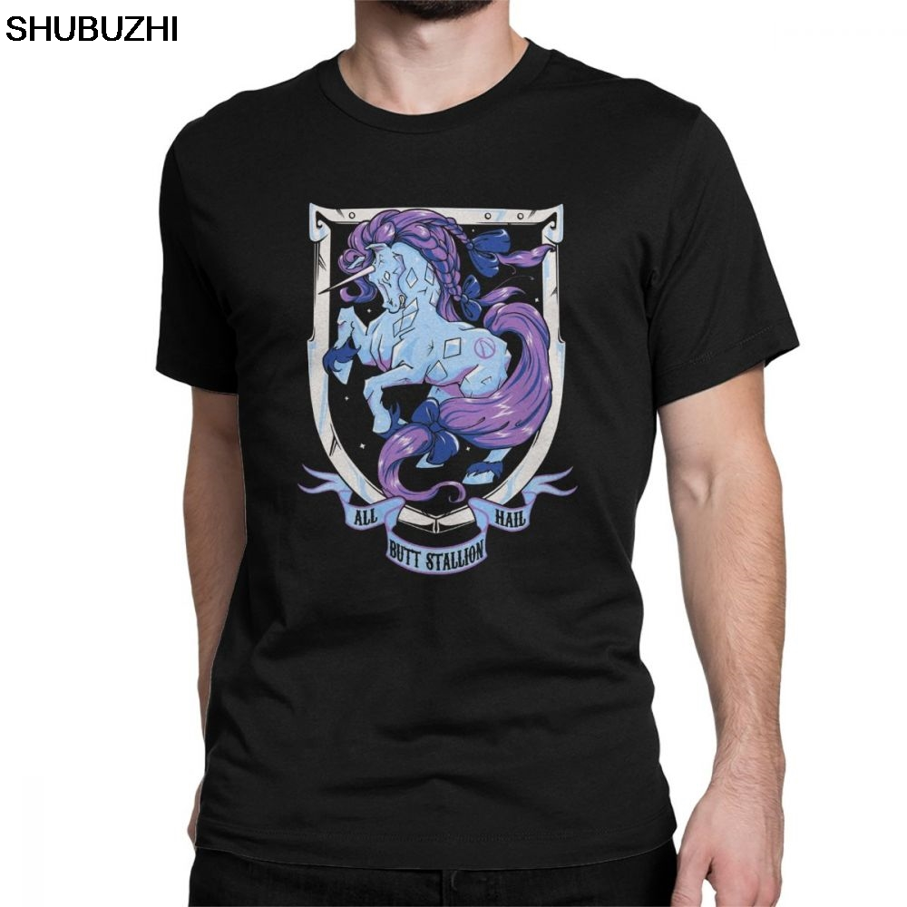 Casual  Monarch T-Shirts For Men Round Collar 100% Cotton T Shirts Borderlands Inspired Short Sleeve Tees Big Size Tops