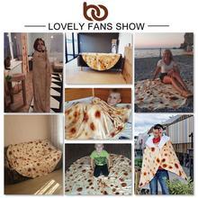 Mexican Burrito Blanket/Corn Tortilla Flannel Blanket/Other Fun Blankets