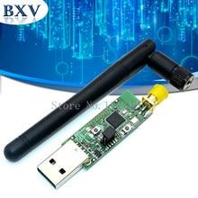 Sem fio zigbee cc2531 cc2540 sniffer bare board packet protocol analyzer módulo bluetooth + antena interface usb dongle captura