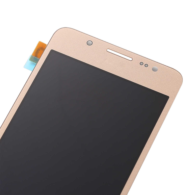 10 قطعة قطع غيار سامسونج غالاكسي J5 2016 J510 J510F J510FN J510M شاشة الكريستال السائل + مجموعة المحولات الرقمية لشاشة تعمل بلمس