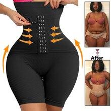 Waist Trainer Corset High Waisted Body Shaper Short Shapewear for Women Tummy Control Thigh Butt Lifter Slimming Underwear
