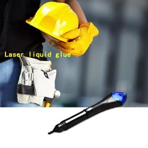 Glue new Super Powered Liquid Plastic Welding UV Light Mobile Phone Repair Tool With Glue(China)