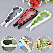 1Pc 4 In 1 Lid Jar Opener Screw Cap Jar Bottle Opener Can Opener Manual Non-slip Twist Cap Bottle Launcher Opener Kitchen Gadget 4 in 1 handy anti slip can lid screw opener bottle opener for beer bottle jar opener kitchen cooking gadgets accessories