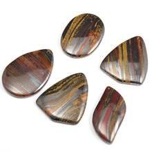 5 шт новый натуральный камень железа Тигр подвески темперамент