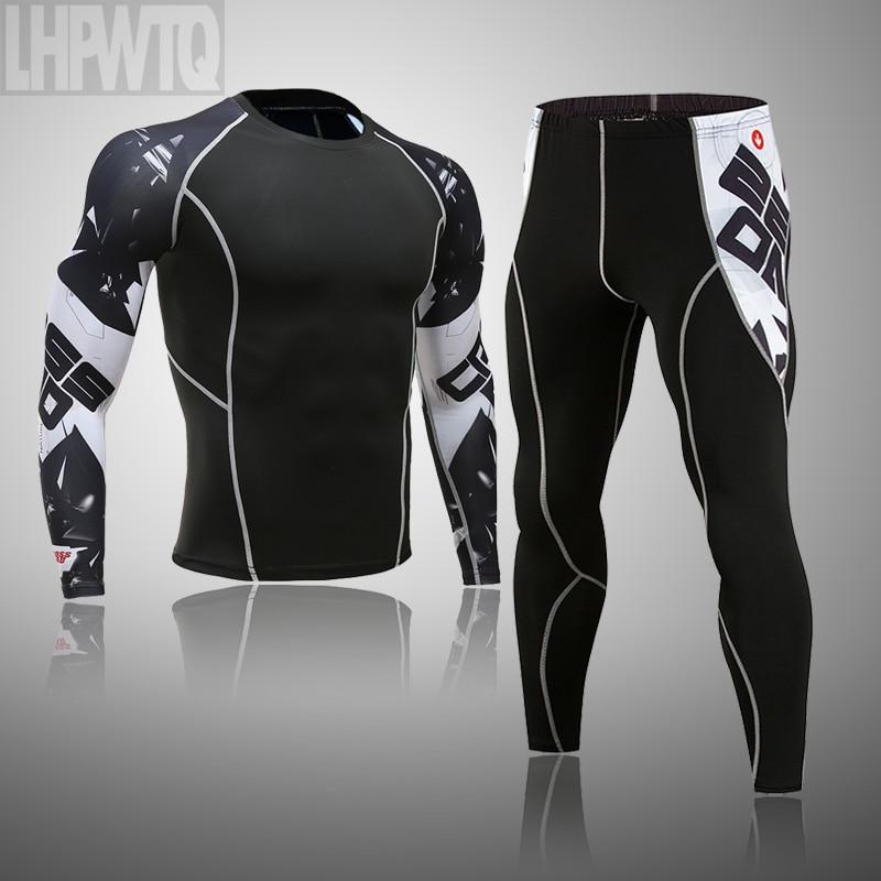 Новое зимнее термобелье с круглым воротником, мужские кальсоны, мужская рубашка + штаны, комплекты теплого компрессионного нижнего белья, термобелье для мужчин|Кальсоны|   | АлиЭкспресс