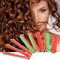 80 teile/satz DIY Kalten Dauerwelle Stange Salon Haar Roller Curling Curler Gummiband Haar Clip Friseur Maker Styling Werkzeug Dropshipping