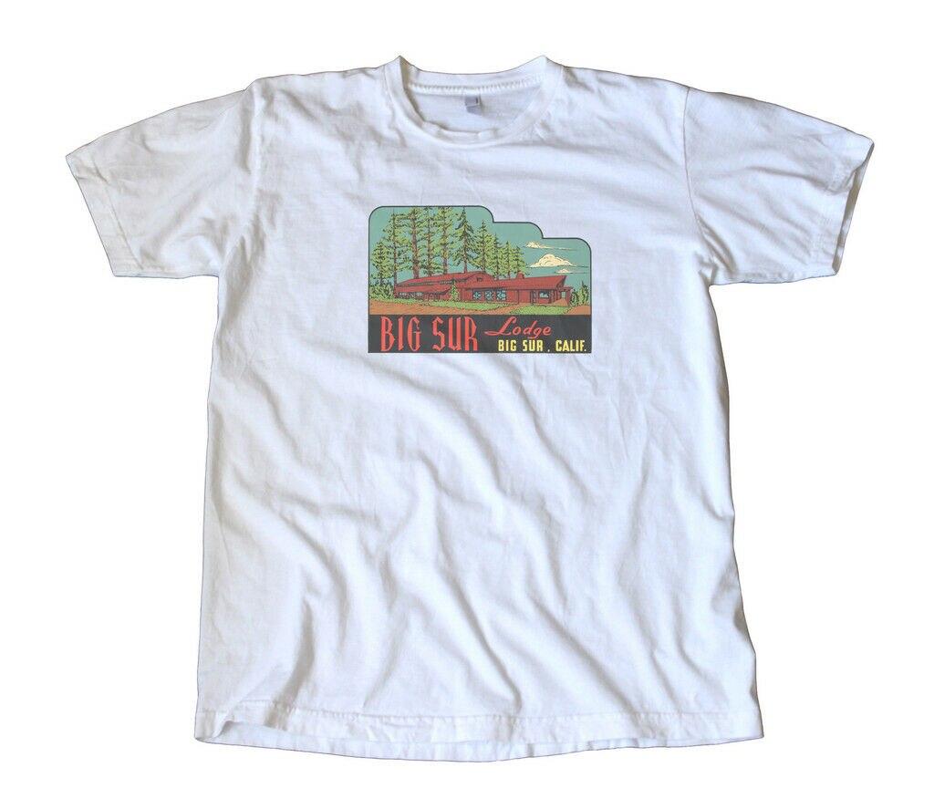 Футболка для путешествий с изображением большого сюра Лоджа California