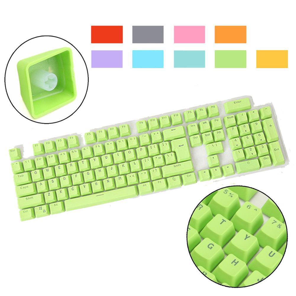 Wireless Keyboard Computer Game Mechanical Keyboard Doubleshot PBT Spacebar 104 Keycap Backlit Gaming Keyboards Teclado Mecanico