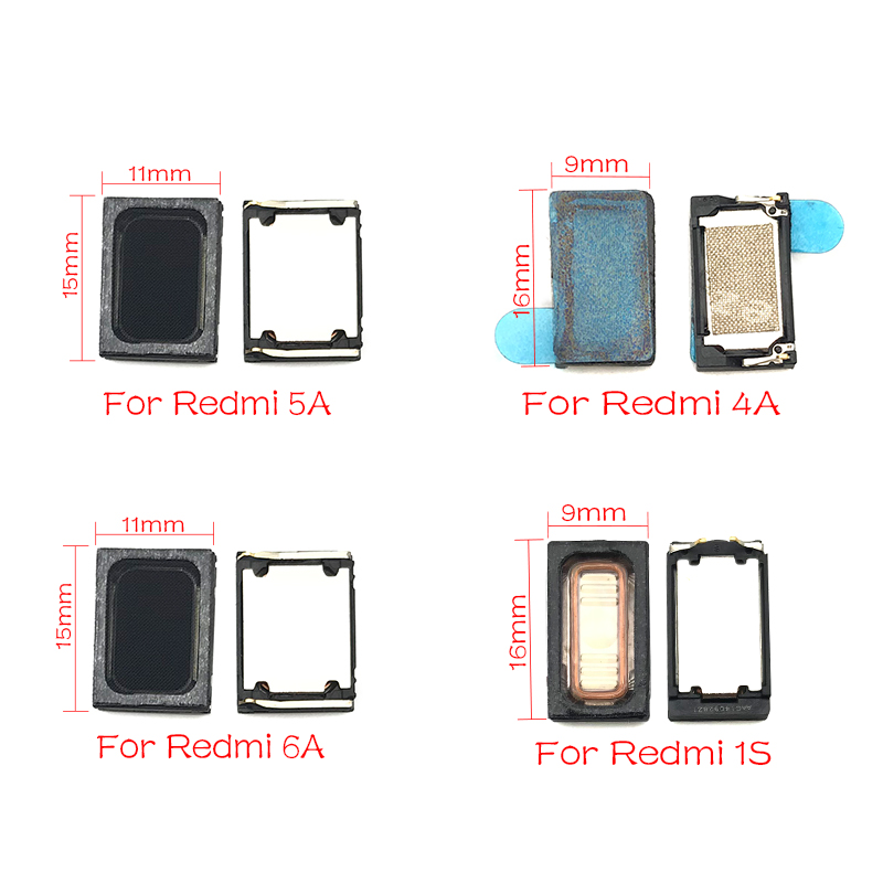 New Buzzer Ringer Loud Speaker For Xiaomi Redmi 5A 6A 4A 1S 3 3S Note 3G 2 3 4 Loudspeaker Replacement Parts