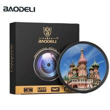 BAODELI Foto Polarisatie Lens Filtro Cpl Filter 37 40.5 46 49 52 55 58 62 67 72 77 82 mm voor Camera Dslr Canon Nikon Sony Lente