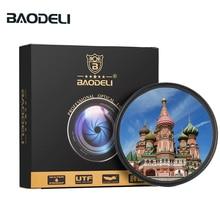 Baodeli 사진 polarisatie 렌즈 filtro cpl 필터 37 40.5 46 49 52 55 58 62 67 72 77 82 mm 카메라 용 dslr canon nikon sony lente