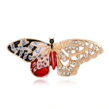 Fashion Korean Version Of The New Joker Enamel Jewelry Alloy Drop Butterfly Brooch Upscale Dont
