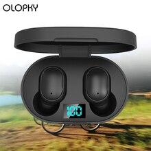 цена на Bluetooth Earphone Wireless Earphones Earbud TWS True 5.0 HIFI Stereo Earphones Bass In-Ear Headset Headphones Earbuds Headset