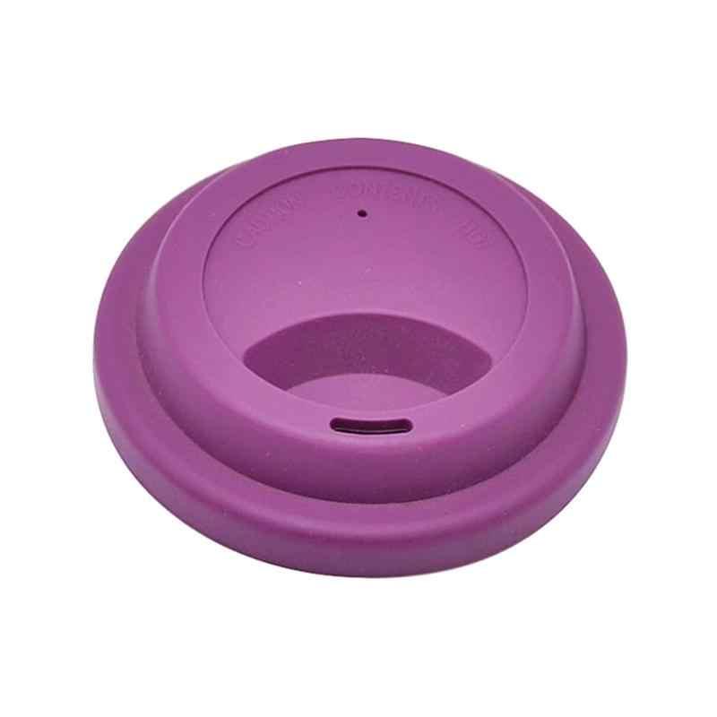 8pcs Dustproof סיליקון קפה גביע מכסים לשימוש חוזר ספל כיסוי מכסה בקבוק מים (מעורבים צבעים)