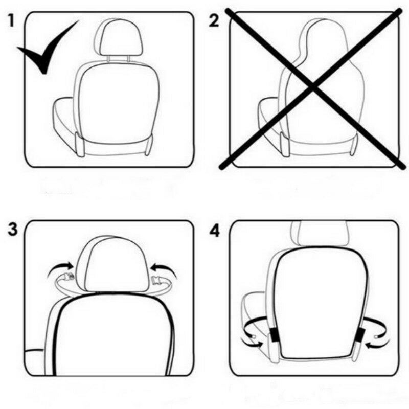 Car Seat Back Protector Cover for Children Kids Baby Anti Mud Dirt Auto Seat Cover Cushion Kick Mat Pad Car Accessories 4