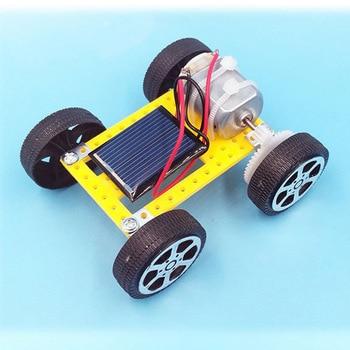 New Kids Solar Toys Energy Crazy Mini Solar Powered Toy DIY Car Solar Power Robot Children Educational Gadget Interactive toys 2