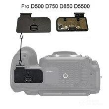 Tampa Da Porta Da bateria para Nikon D500 D750 D850 D5500 Reparo Da Câmera