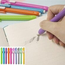 Pencil-Eraser Rubber-Pen Correction-Supplies Replaceable-Core Plastic-Holder Art-Drawing
