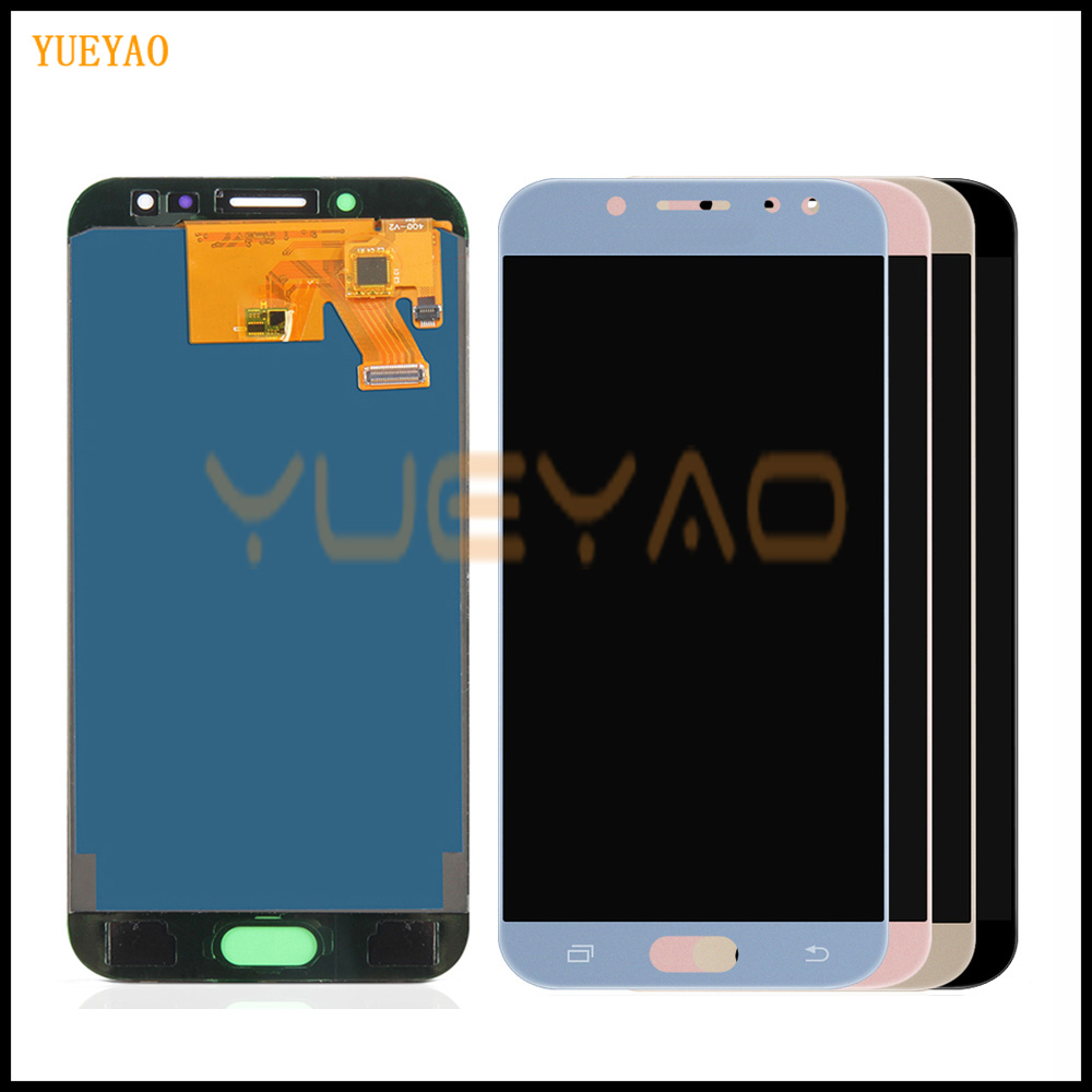 LCD Screen For Samsung GALAXY J5 2017 Display J530F LCD Display J530 LCD Touch Digitizer Glass Assembly No Frame Can Adjust