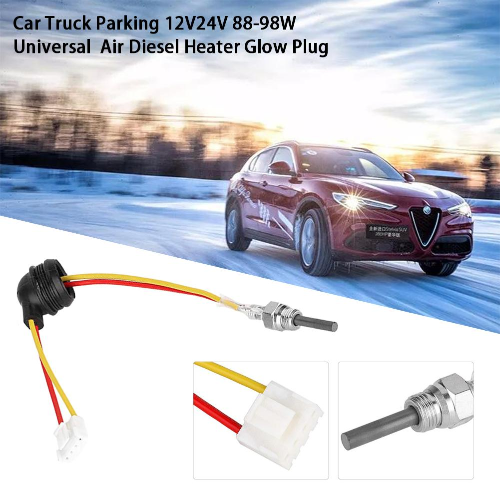 88-98W Ceramic Pin Glow Plug Air Diesel Parking Heater 12V For Car Truck UK