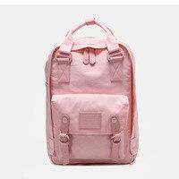 2019 New Donut Double Shoulder Bag Korean Version Multicolor Optional Waterproof Lady Backpack Light 14 Inch Laptop Backpack