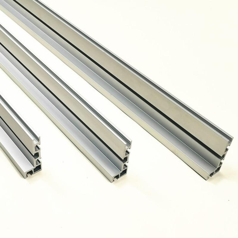 Купить с кэшбэком 75 Model T-Tracks T-Slot Aluminium Miter Track Jig Fixture Slot for Building Various Jigs 300mm 400mm 500mm 600mm 800 mm