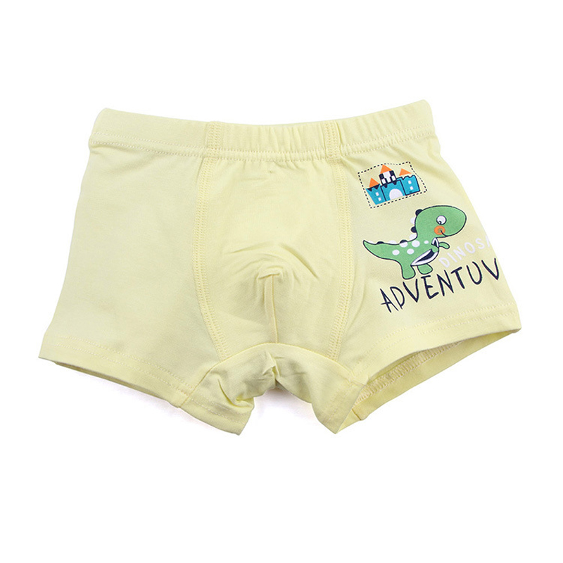 5 Pieces Baby Boys Panties Cotton Cute Cartoon Dinosaur Children Underpants 1-10 Year Kids Panties for Boys Short Briefs 3