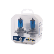 NARVA H4 12 V-60/55 W (P43t) (white light) RPW (N. pack 2 pcs) 48680 (Pu. 2)