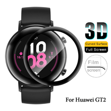 Thickened-Film Smart-Watch Huawei Full-Protective-Glass GT2 3D for 42mm Bracelet 3d-Cover