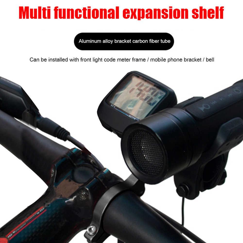 GUB труба из углеродистого волокна 3K из углеродного волокна 31,8 мм, руль для велосипеда трубка для расширения крепление на велосипед Велоспорт фар лампа дневного света фонарик держатель