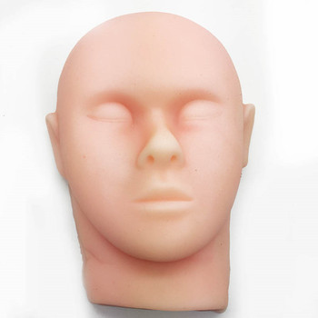 Silicone head model skin suture facial model minimally invasive cosmetic model