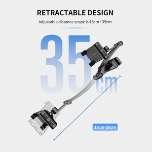 Image 3 - ROCK Universal Holder For Tablet PC Auto Car Back Seat Headrest Mounting Holder Tablet For 4.7 10.5 Inch For iPad Xiaomi Samsung