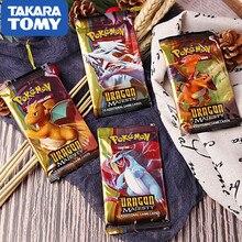 TAKARA TOMY Pet Pokemon Cards новейший стиль в Pokemon GX Card игрушка для детей Детские игрушки