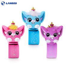 Hot Funny Kids Toy Chinese Electronic Pet Intelligent Cat Hand Band Bracelet Interactive Dialogue Children Educational Toys Gift