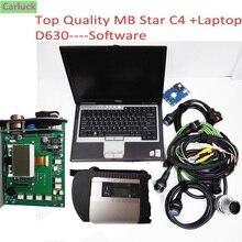 Высшее качество MB Star C4 с ноутбуком D630 новейшее программное обеспечение,09 veдиамо 05,01 и DTS Авто C4 диагностический сканер wifi функция